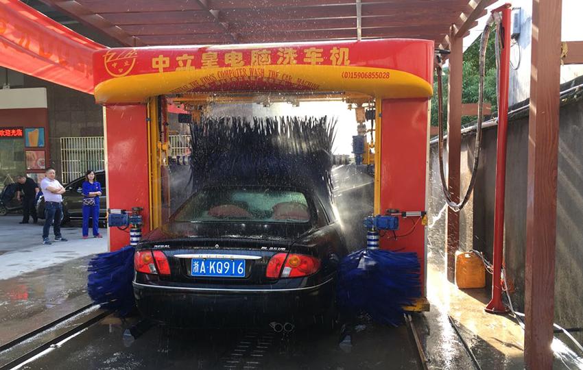 龍門往復式洗車機(不帶吹風)
