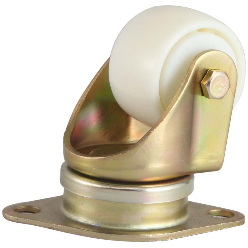 EF14 系列-菱形底板/方形底板-活動機場輪(鍍彩鋅)