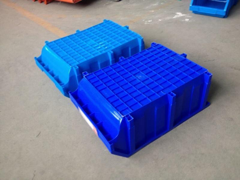 A5#零件盒藍色紫蘭底部