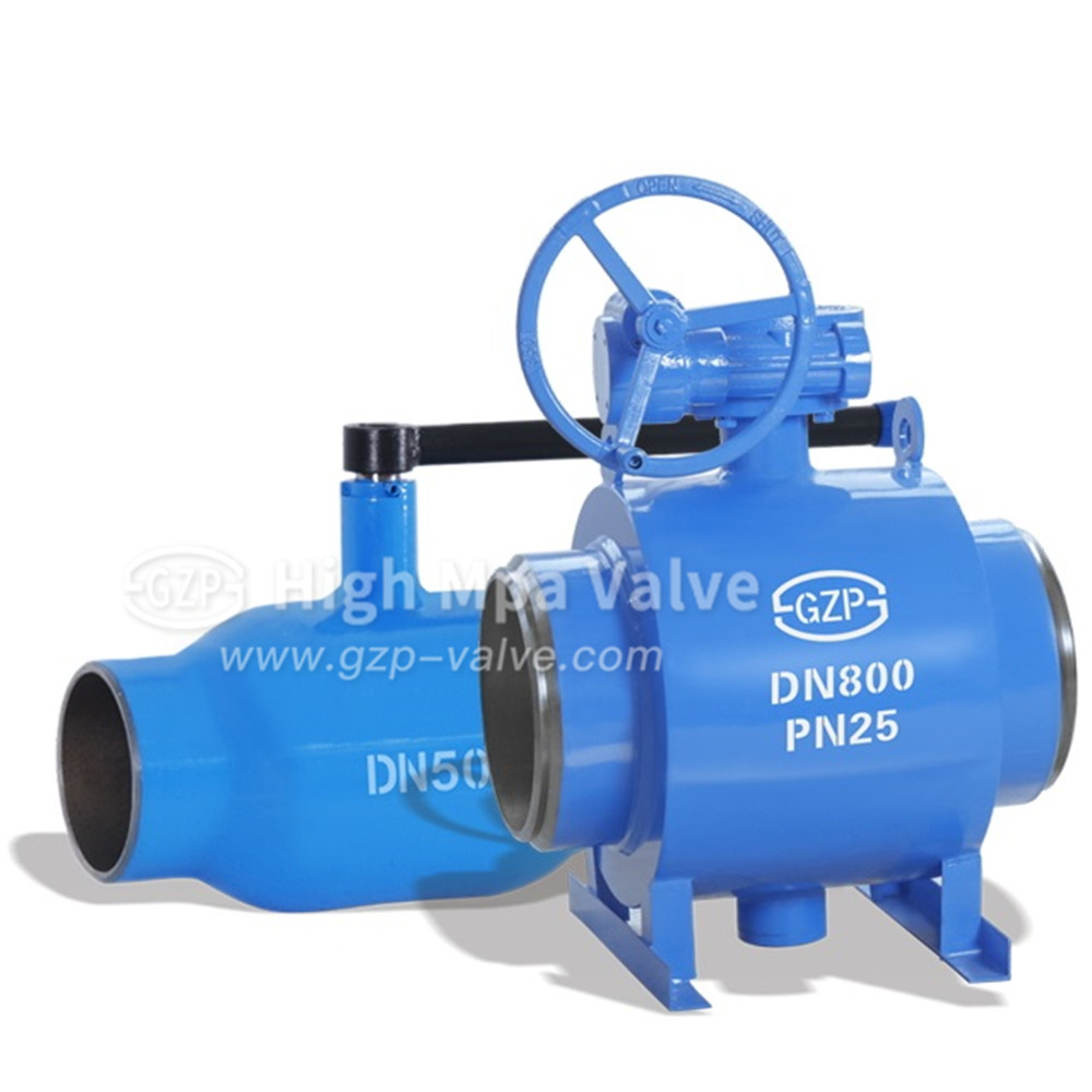 Manual Fully Weld Ball Valve
