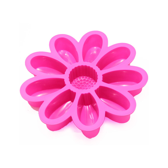 Flower bake mold