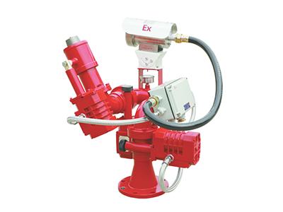 固定式电控消防水炮