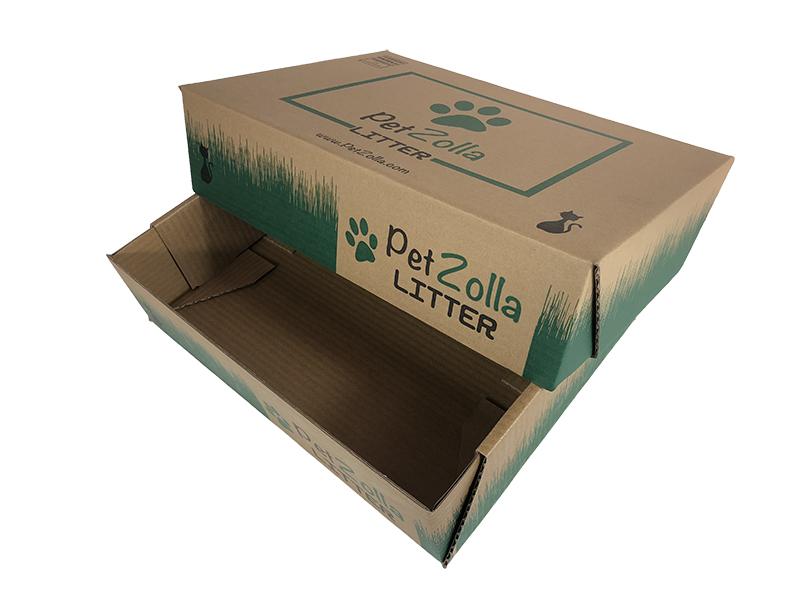 意大利草皮涂蜡纸箱
