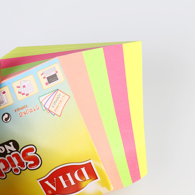 high quality fluorescent Neon papersticky note dispenser