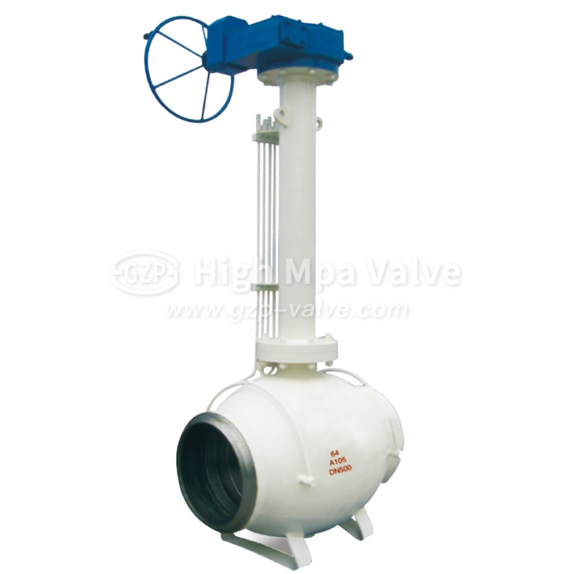 Full Welded Underground Ball Valve