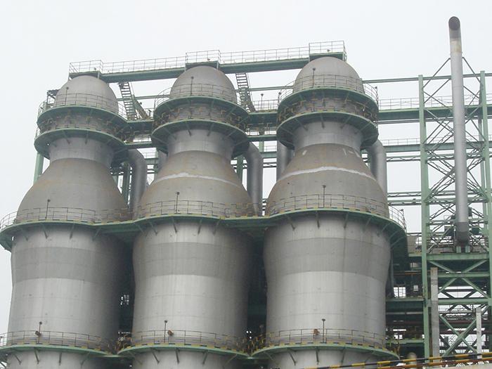 常州中天1580m3高炉热风炉系统EPC工程