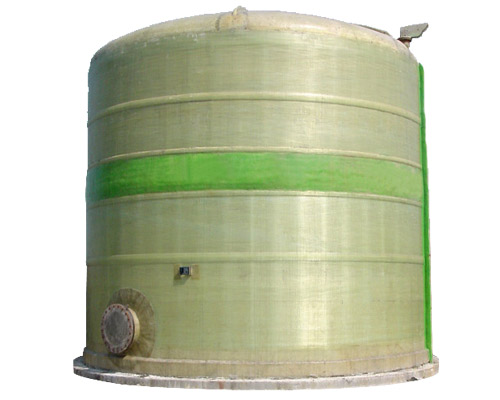 The winding FRP tank