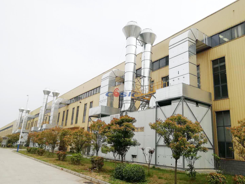 金鹰重型工程机械有限公司—整体通风除尘