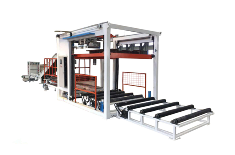 Automatic bag stacking machine with 500 bag/hour