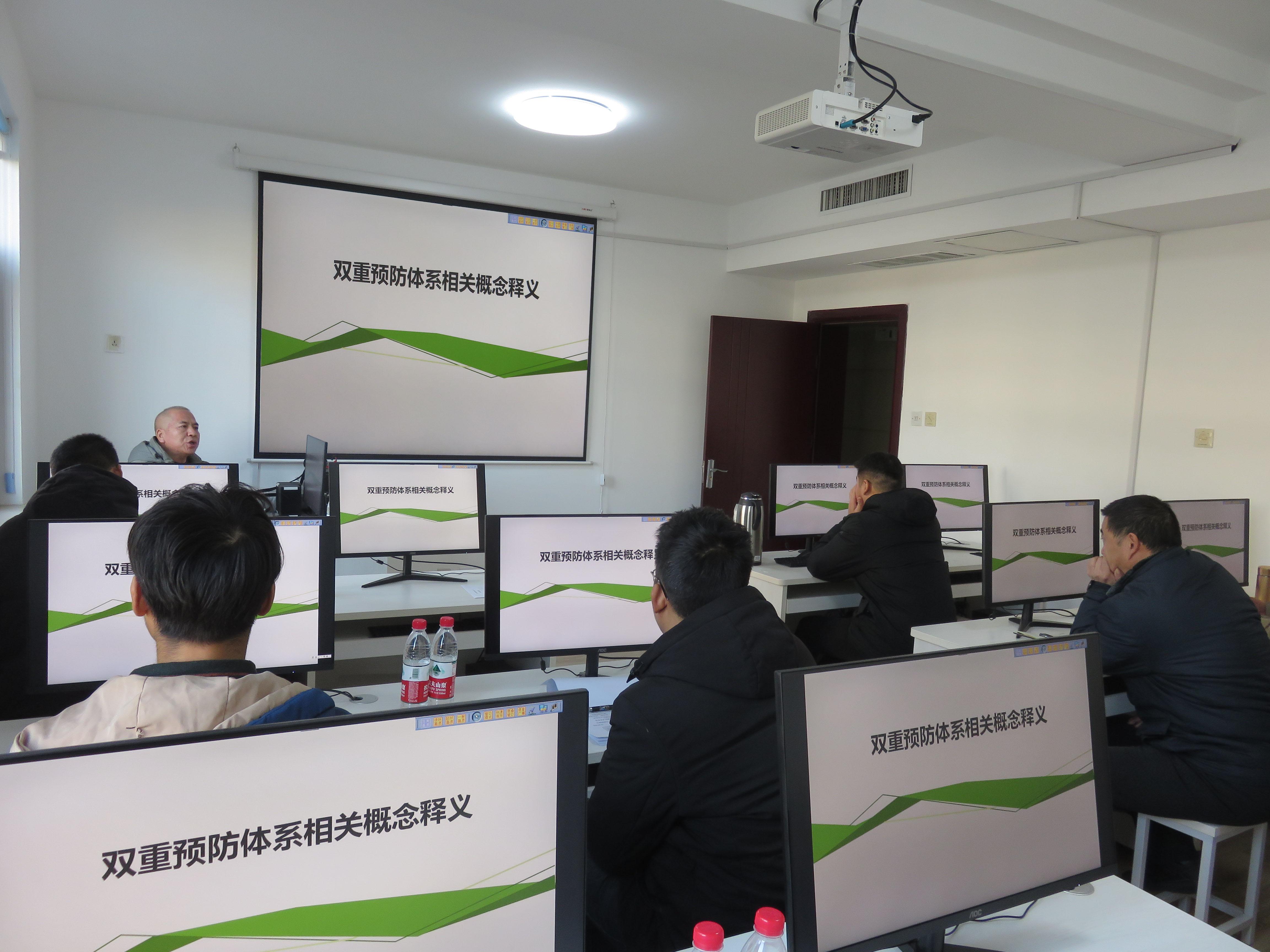 郑州建工集团召开建筑施工安全生产双重预防体系专题教育培训