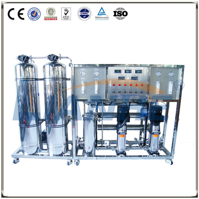 500L/H Double-stage RO Water Treatment