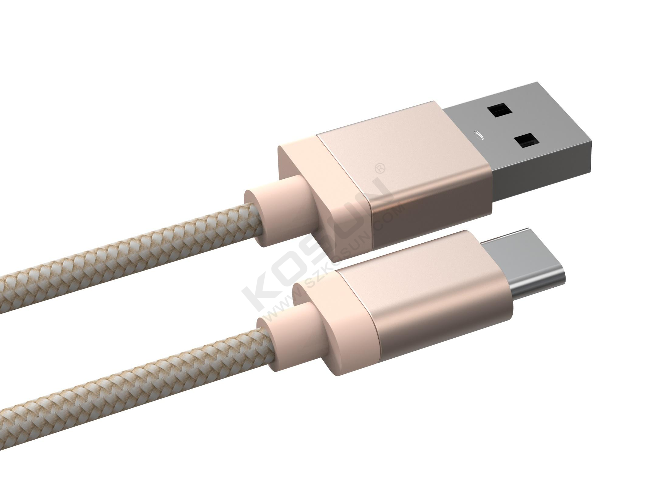 Type C 2.0 3A  data and charging cable