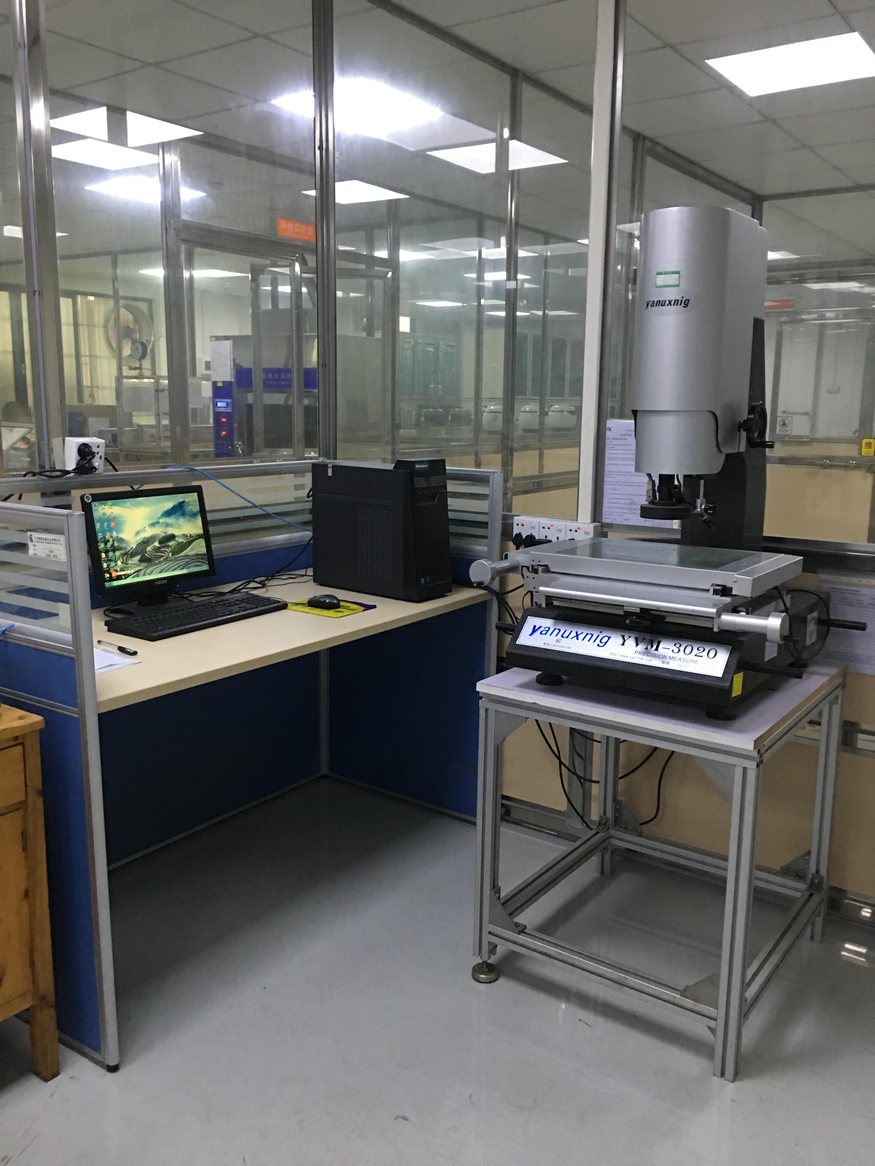 影像测试仪操作系统
