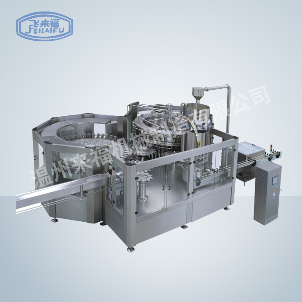 JR80-80-18D 34000B/H 沖瓶灌裝旋蓋三合一機組