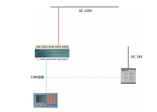 智能照明控制系統圖