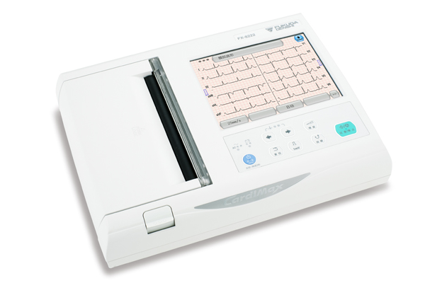 FX-8222六道自动分析心电图机