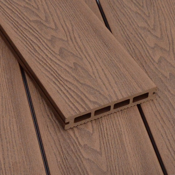 WPC Embossing Decking W150×T25mm Red Brown