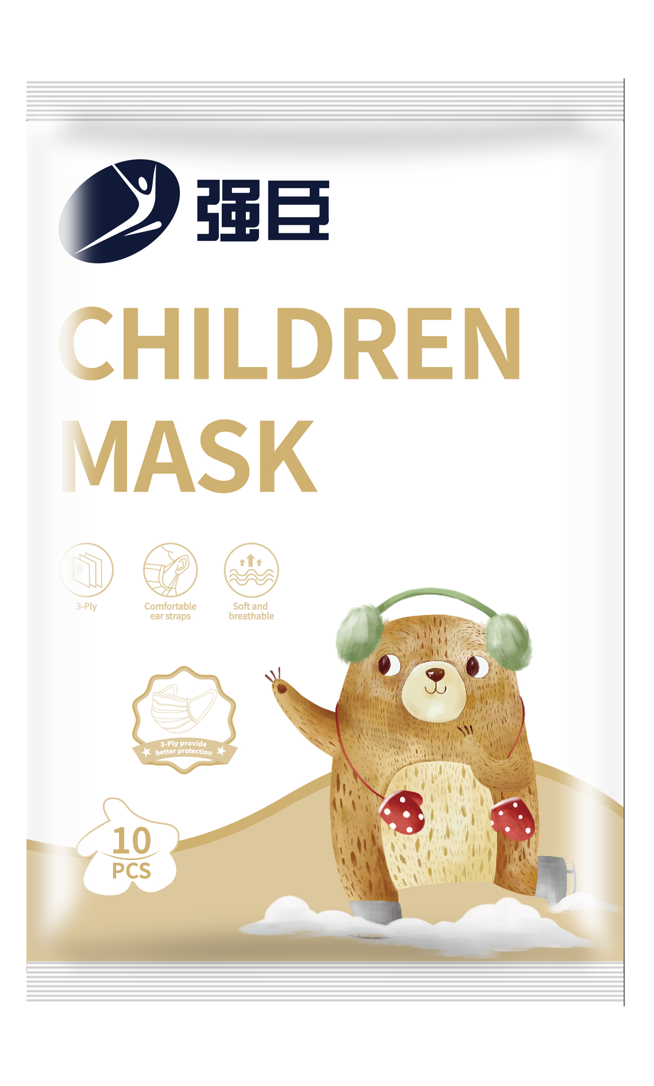 强臣Children Mask(10pcs)