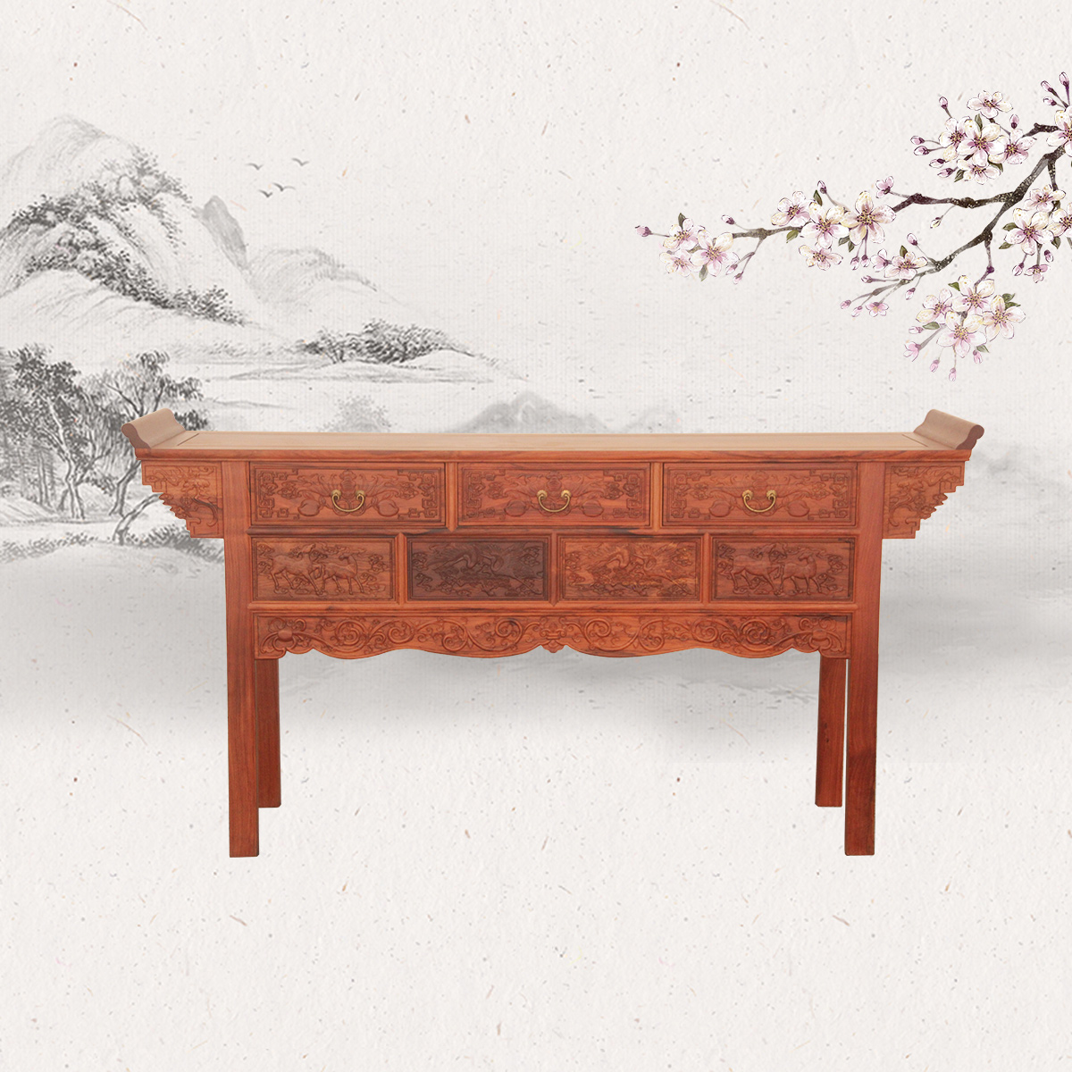 中式五斗供桌