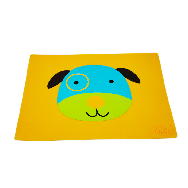 Silicone mat for baby
