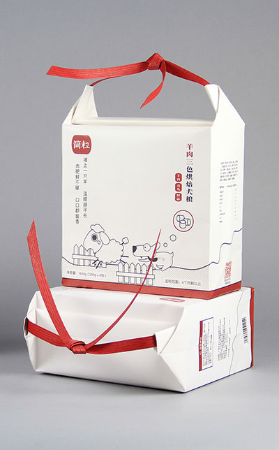 Creative Kraft Carton Customized design bag for dog food