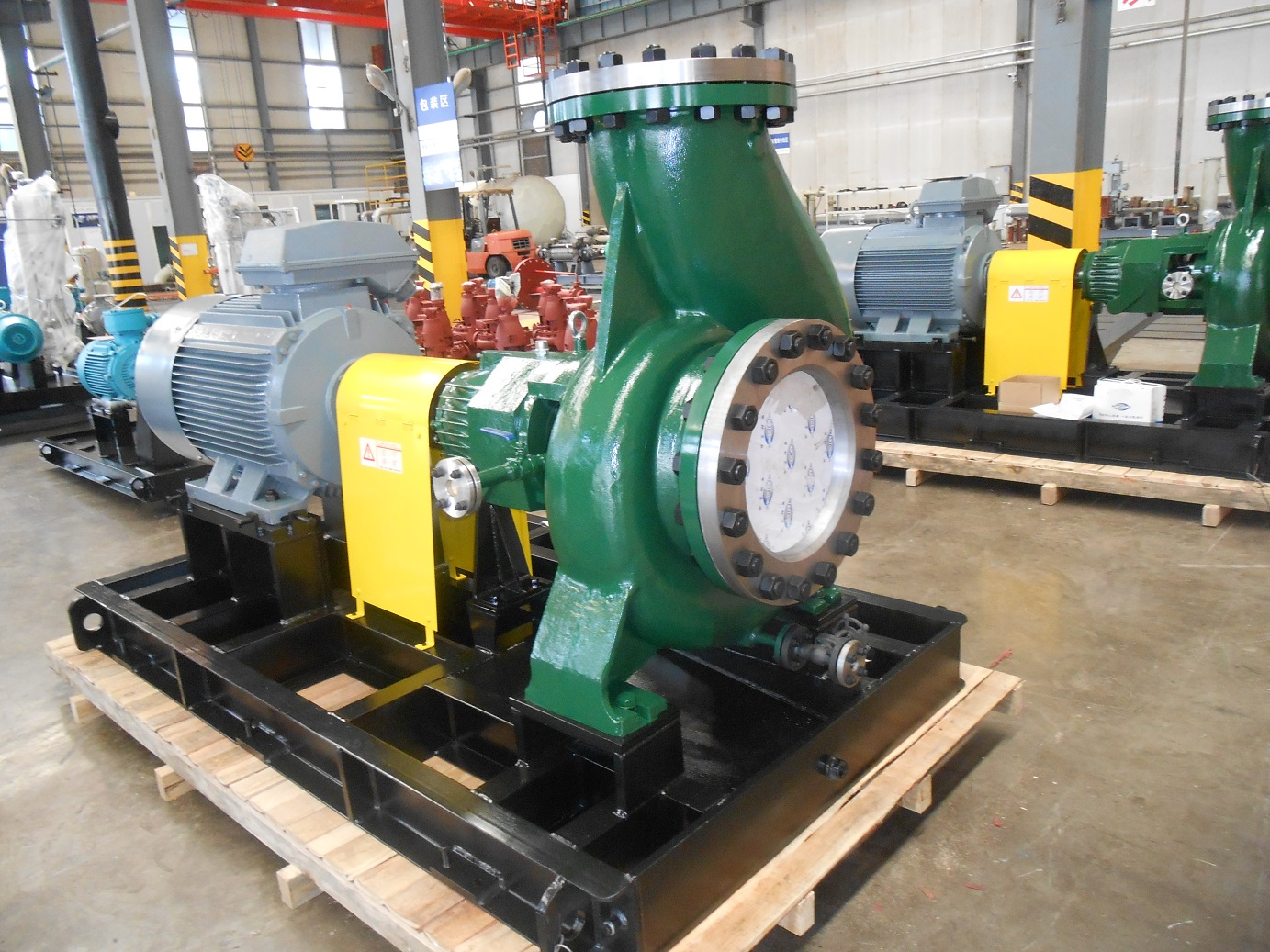SOC chemical process pump (API610/OH1 type)