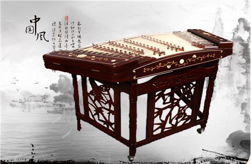 精品红木演奏型402扬琴