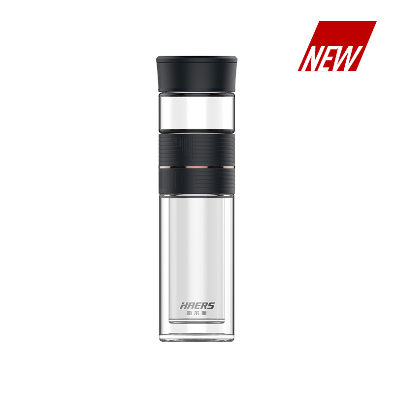 Glass Tea Bottle HBL-W-260-77