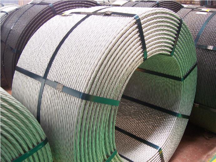 高强度低松弛预应力镀锌钢绞线