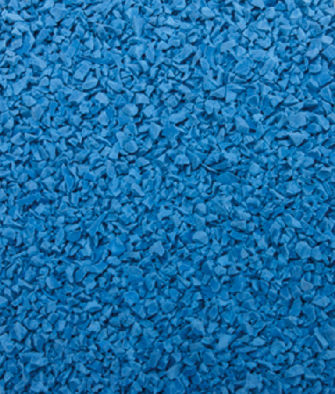 Light blue EPDM RUBBER GRANULES