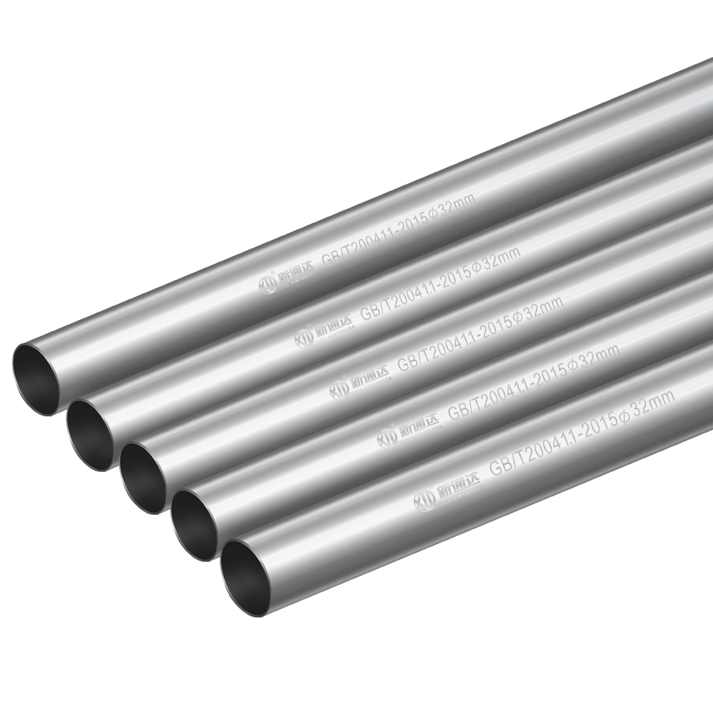 Hot dip galvanized round tube
