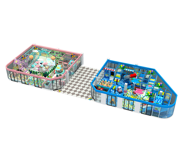 Durable in Use Cheap in Quality Children Indoor Playground