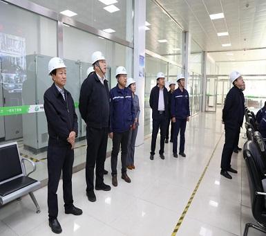 榆林市委常委、副市長李二中到華航能源公司調研
