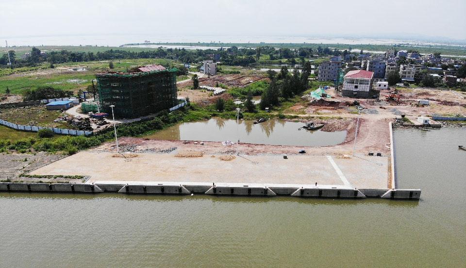 欽州市茅尾海國家級海洋公園監測監控管理基地項目碼頭工程