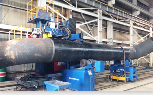 复合坡口自动化焊接工位
