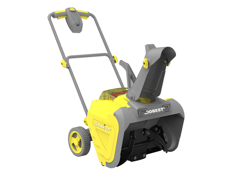 "DC- 21"" Cordless 80V Single Stage Snow Blower"