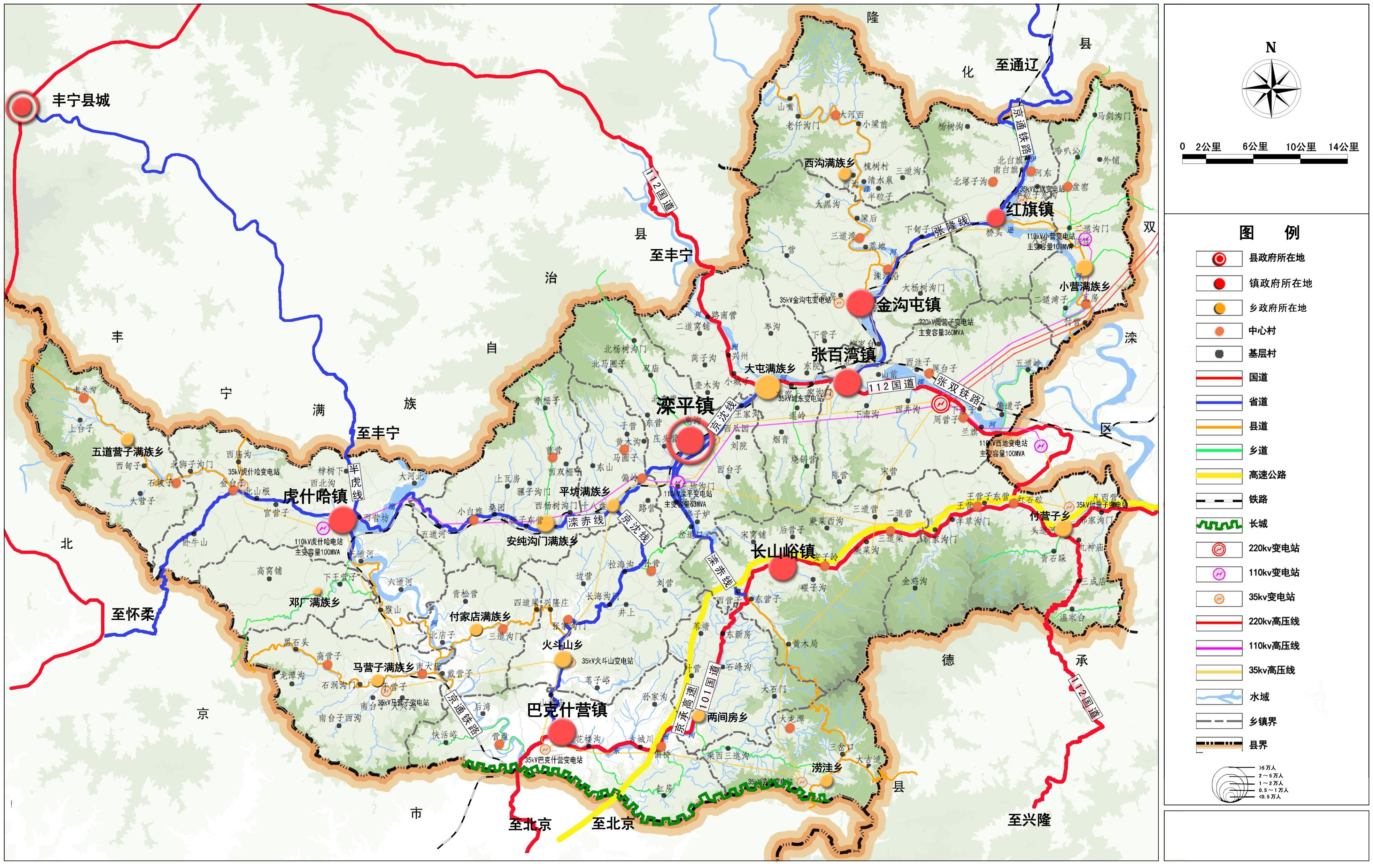 灤平縣鄉鎮國土空間規劃和村莊規劃