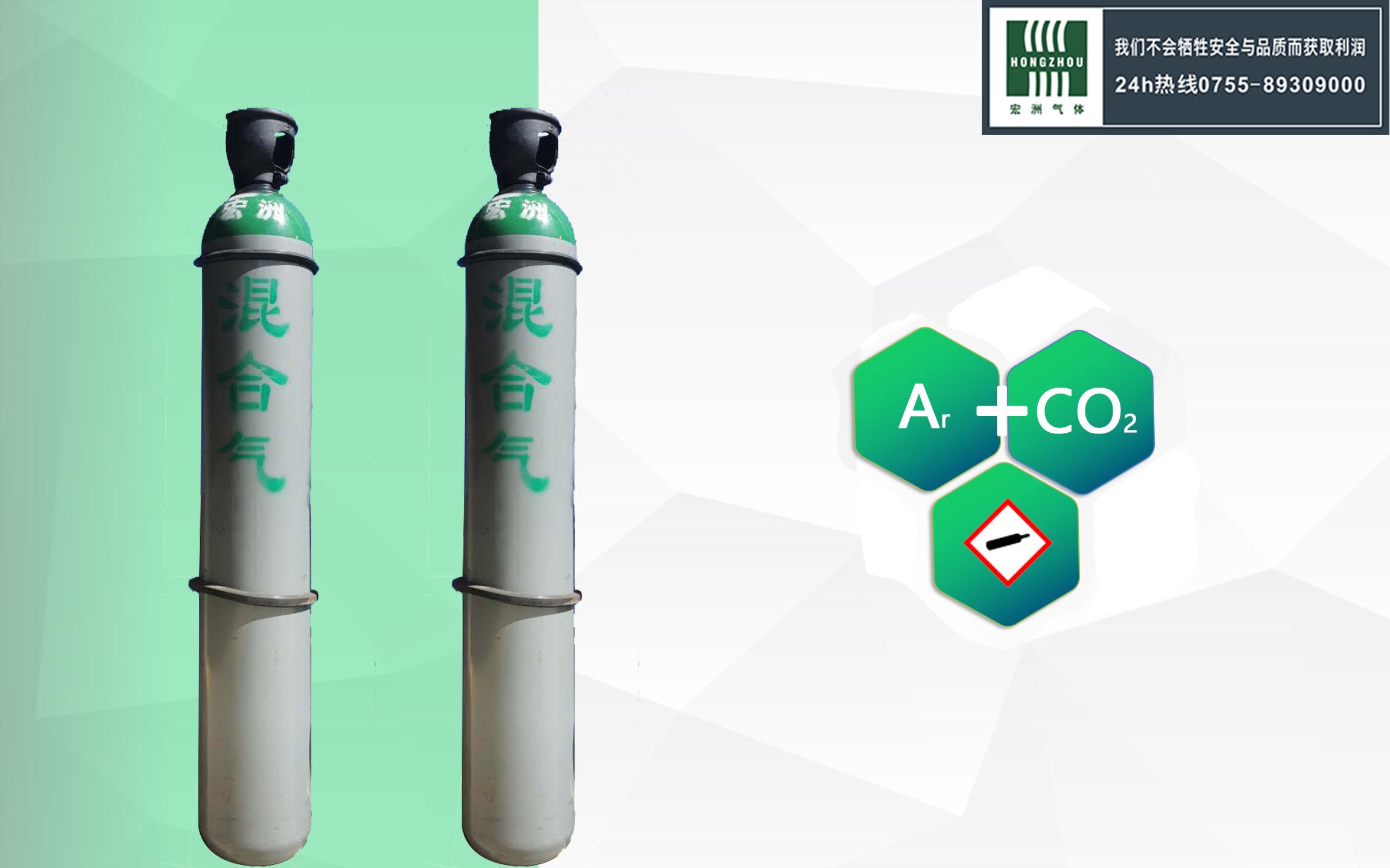 氬加二氧化碳