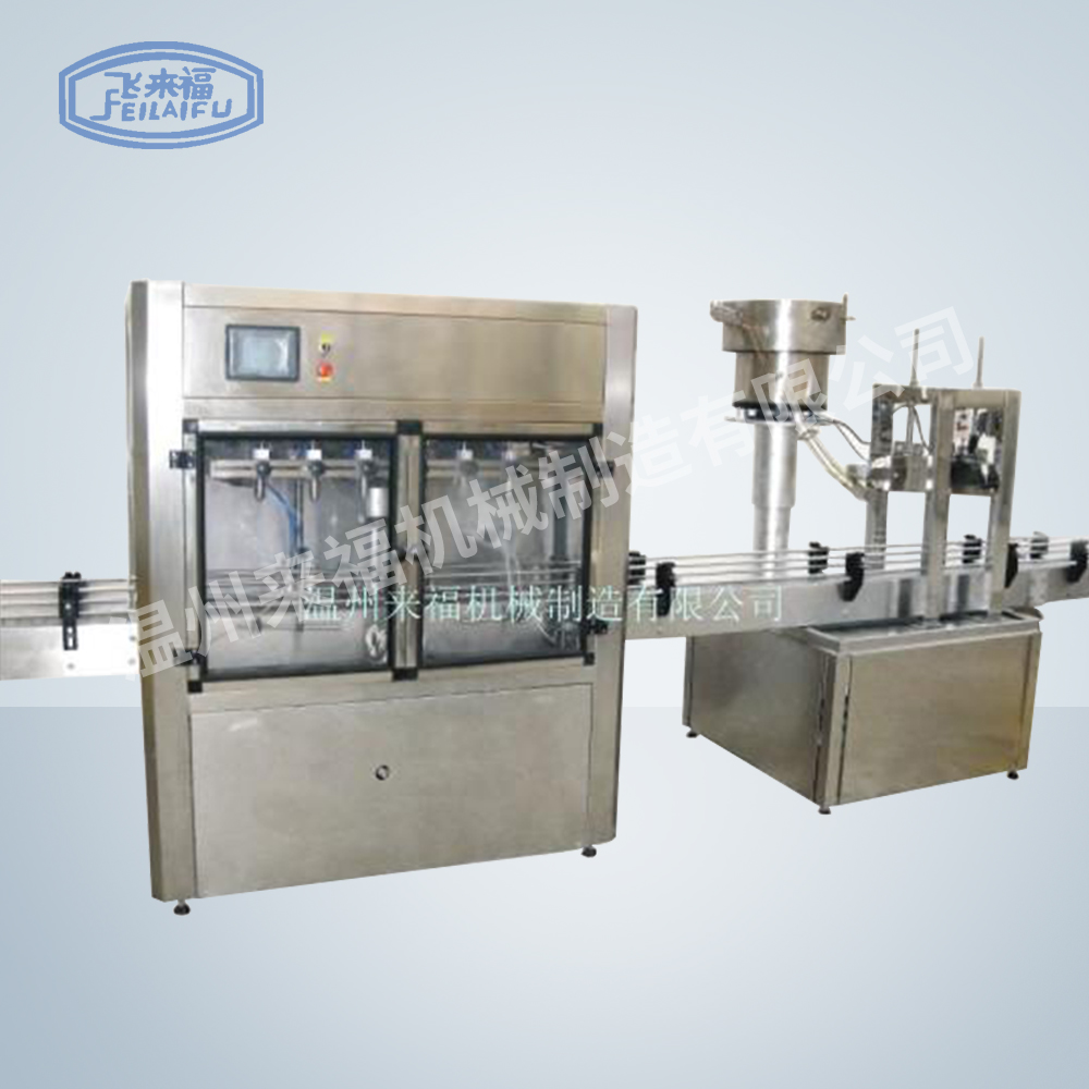 Automatic linear oil filling machine