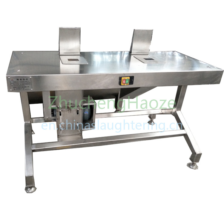 Duck gizzard  peeling machine