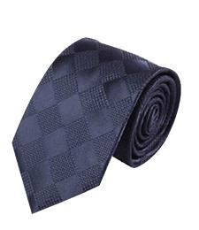 13-07真絲色織領帶