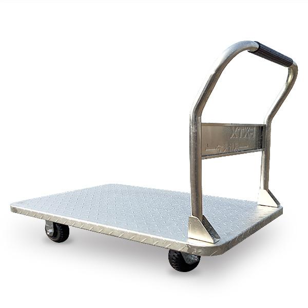 鍍鋅鋼板推車(可拆式扶手)FX-800