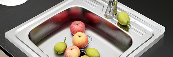 頭次見廚房裝這種水槽,實用又大氣,回家我也效仿