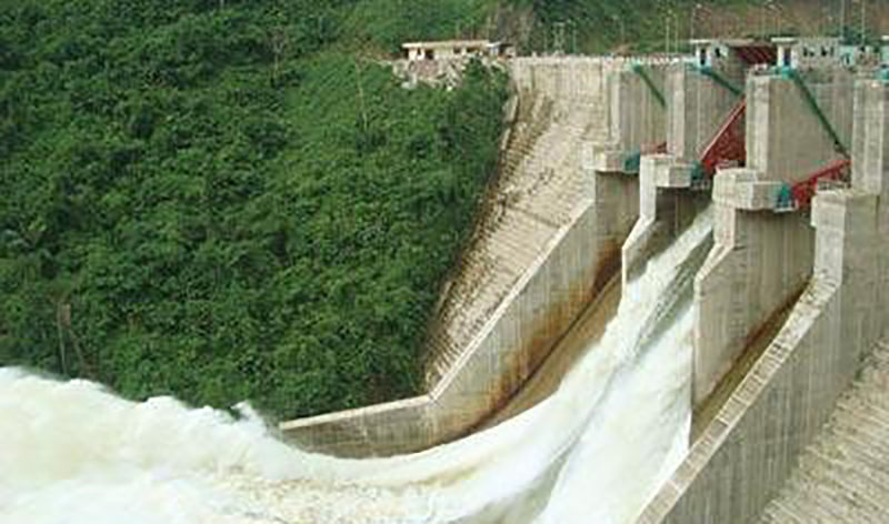 Vietnam hydropower station