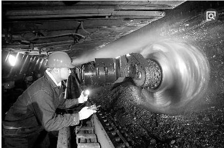 采煤設備的發展