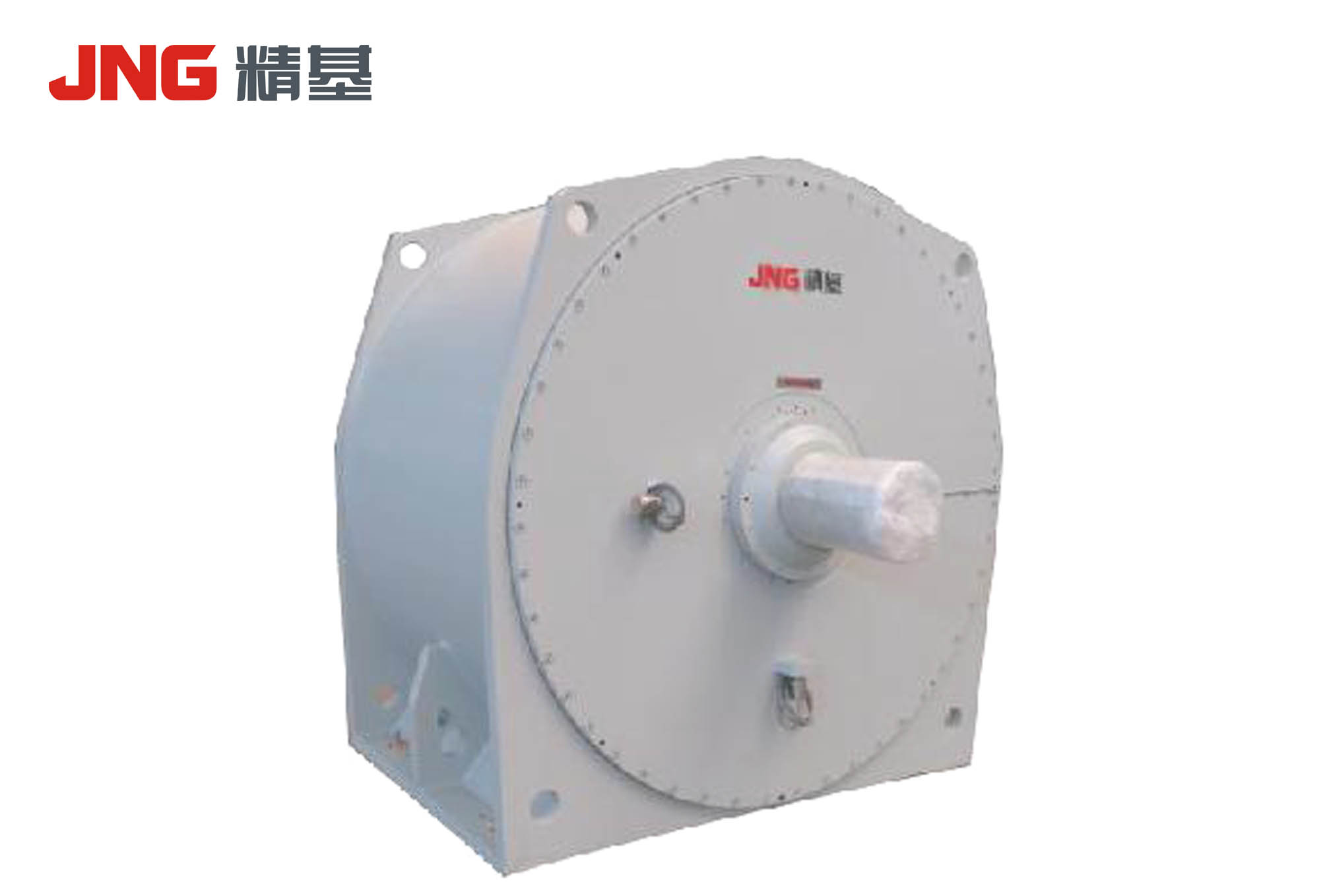 Three-phase permanent magnet synchronous motor for cement mill
