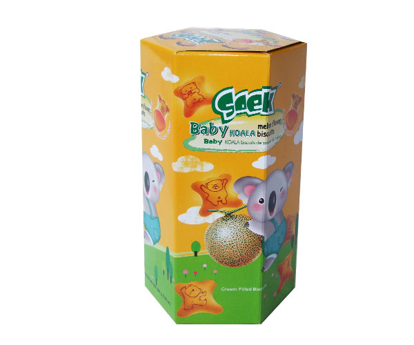 Baby Koala Cream Filled Biscuits Melon Filling 200gX10boxes 55X25X23cm
