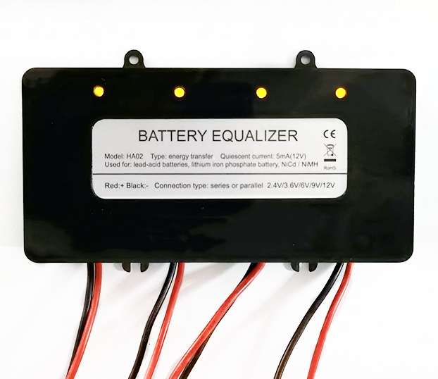 2-12V Battery Equalizer with LED Indicator