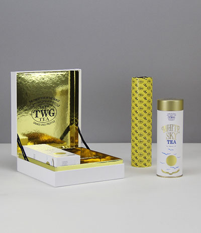 TWG tea packaging box gift bag supplier