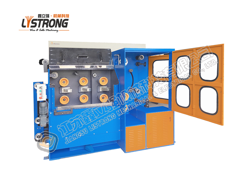 Saw wire drawing machine